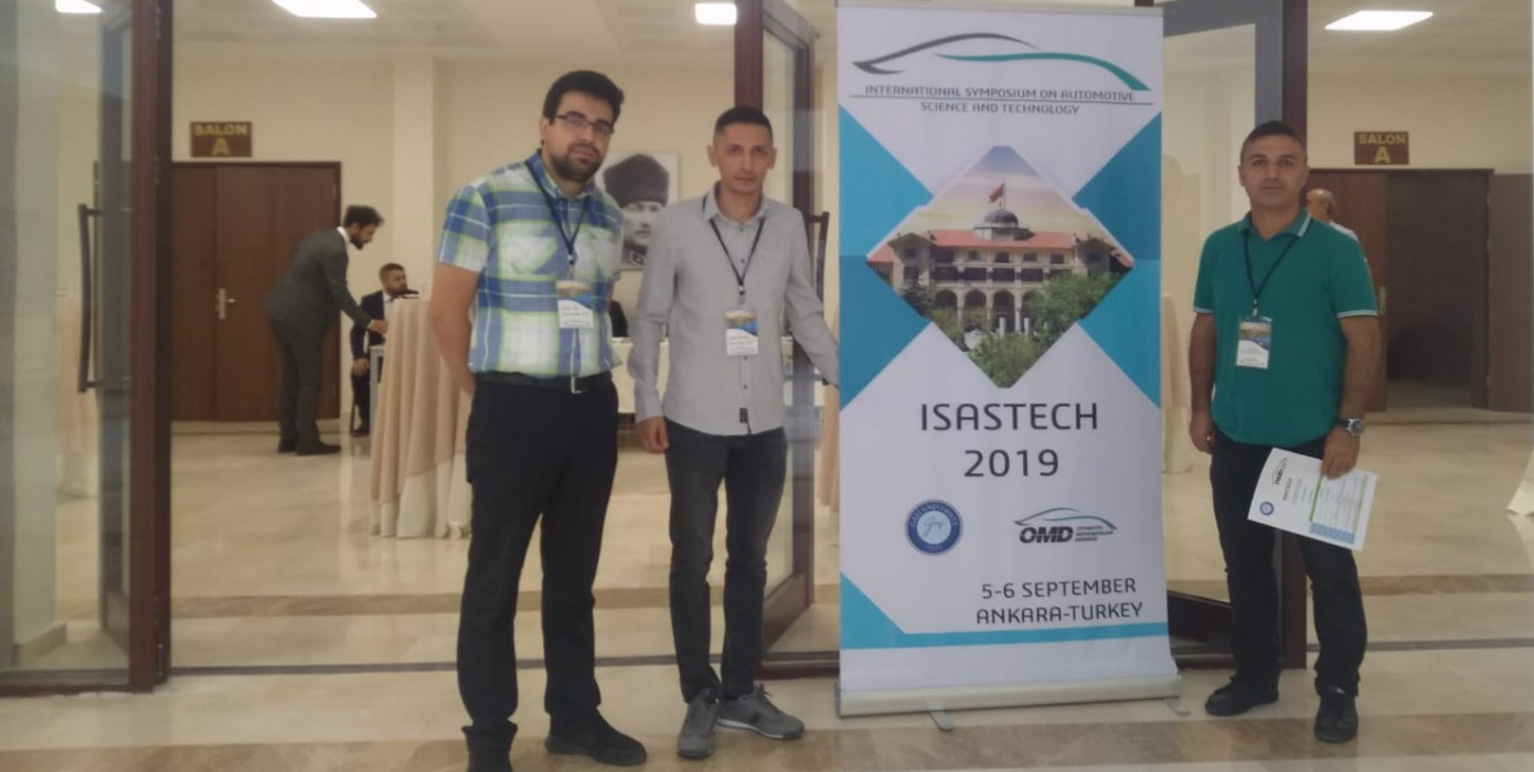 Internatıonal Symposıum On Automotıve Scıence and Technology (Isastech2019) Sempozyumu