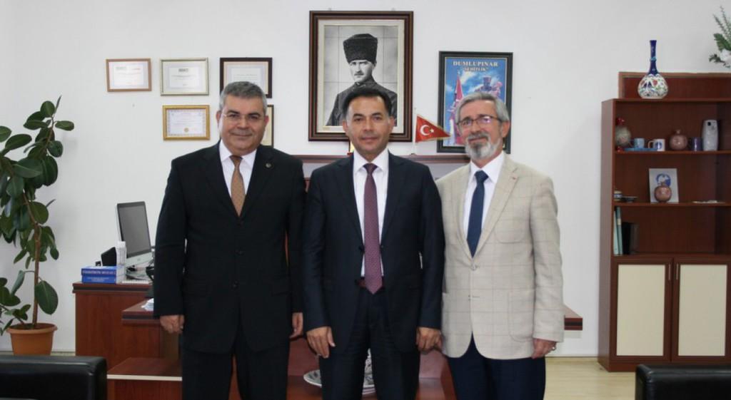 Prof. Dr. Mustafa Aydın'dan KTBMYO'ya Ziyaret