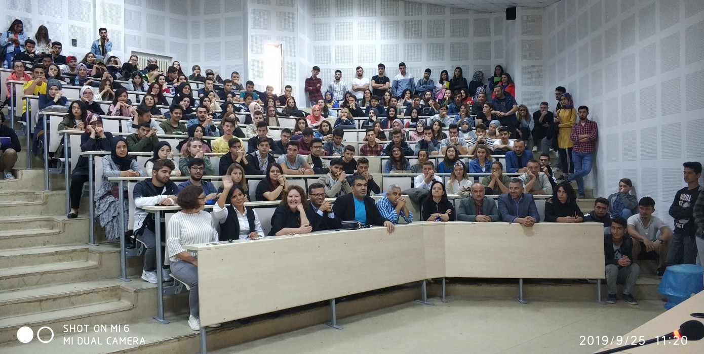 2019-2020 Eğitim Öğretim Yılı Güz Dönemi Oryantasyon Programı Yapıldı