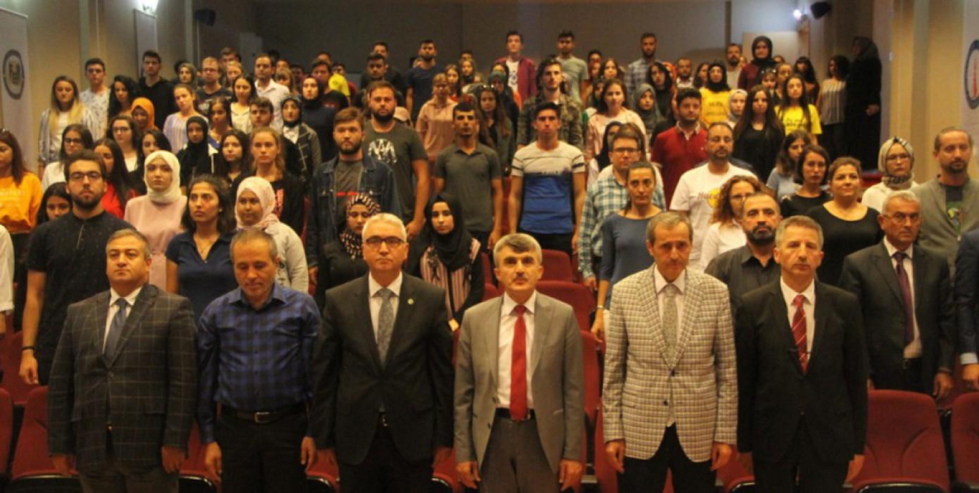 Fen Edebiyat Fakültesi Oryantasyon Programında Kalite Güvencesi Anlatıldı!