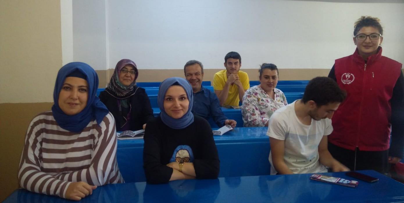 Gençlik ve Spor İl Müdürlüğü ile Okulumuz Öğrencileri Buluştu