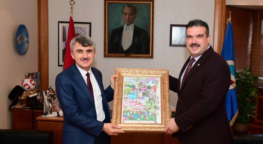 Rektörümüzden Eskişehir'deki Üniversitelere Ziyaret