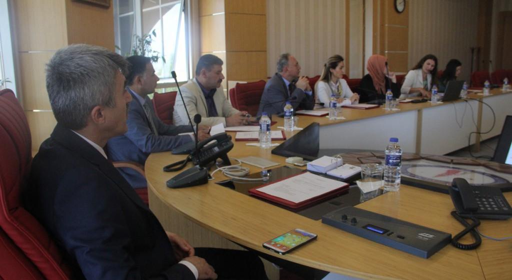 DPÜ'de Kalite Komisyonu Toplantısı Yapıldı