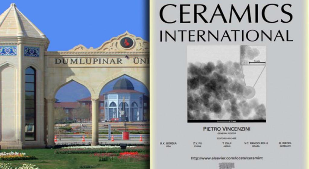 DPÜ'de Yapılan Tez Çalışması Uluslararası Dergi Kapağında Yer Aldı