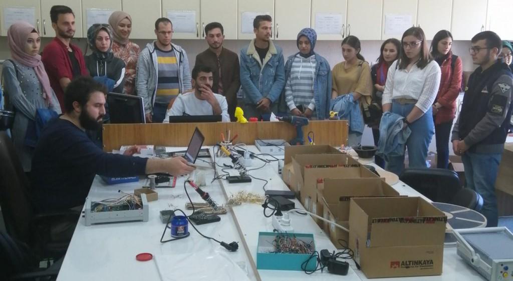 DPÜ Tavşanlı MYO'dan AKÜ'ye Teknik Gezi