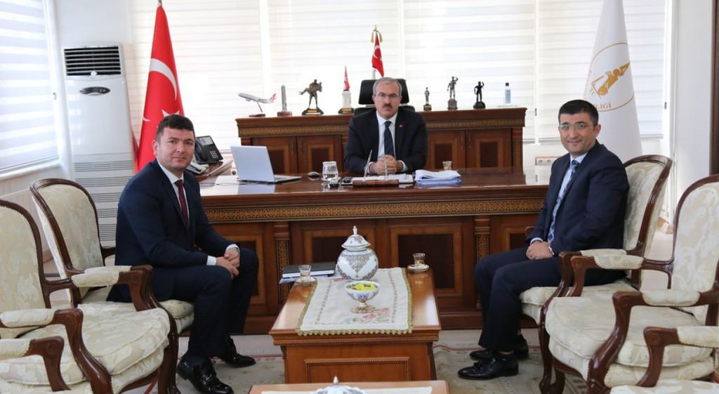 DPÜSEM Müdürü Gül'den Kütahya Protokolüne Ziyaretler