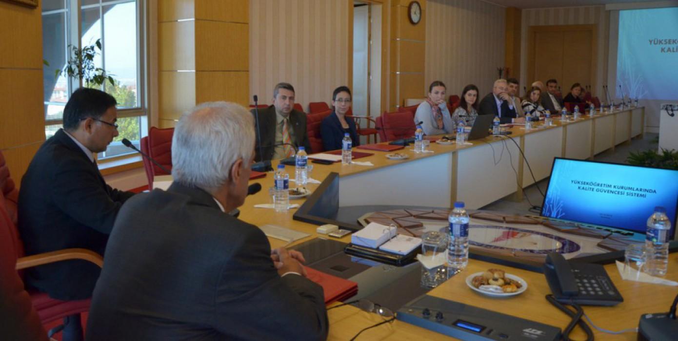 Dpü'de Kalite Alt Çalışma Grupları Bir Araya Geldi