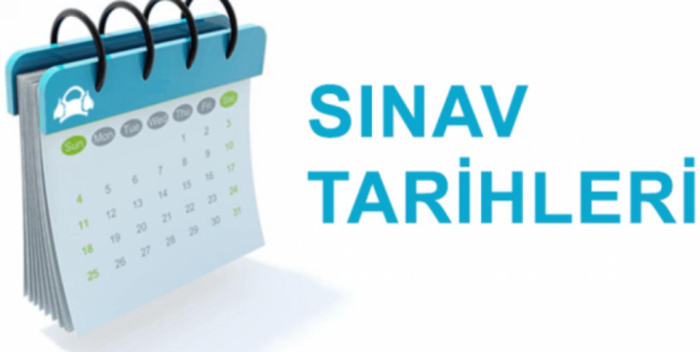 2019-2020 Güz Dönemi Azami Süre Sınav Programı
