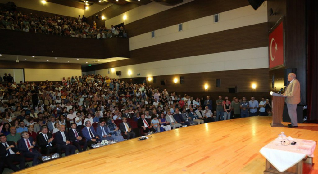 Our Rector Attends the Battle of Dumlupinar Conference