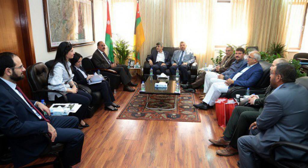 Professor Dr. Kazım Uysal Visits Jordan University