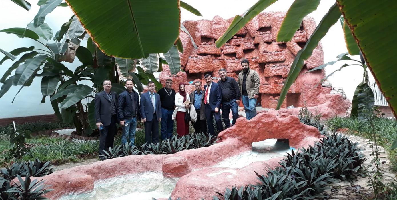 Cezayir'de Bulunan University Aboubekr Belkaid, Tlemcen Üniversitemiz ve Kütüphane Ziyareti