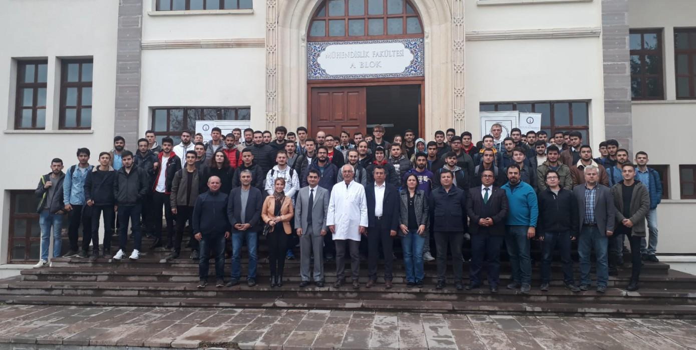 I. Sınıf Öğrencilerimize Bölüme Hoşgeldin Etkinliği Düzenlendi