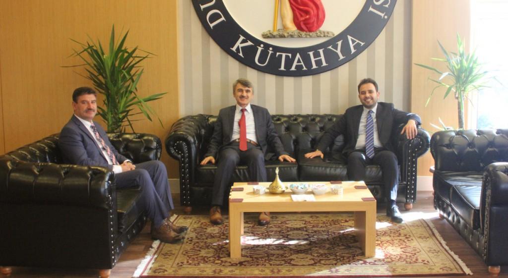 Kütahya Milletvekili İshak Gazel'den Rektörümüze Ziyaret
