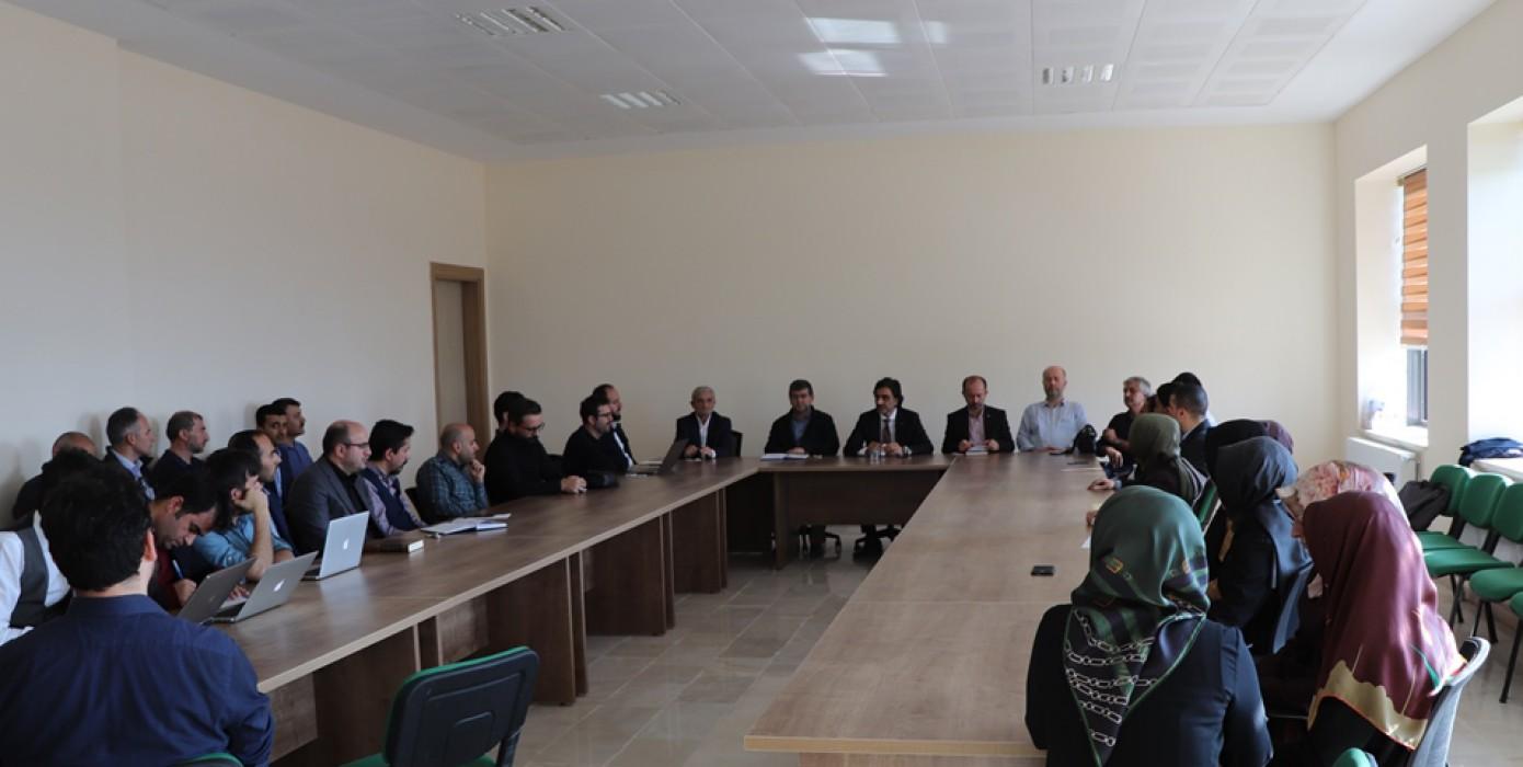 Akreditasyona Hazırlık İç Paydaş Bilgilendirme Toplantısı Yapıldı