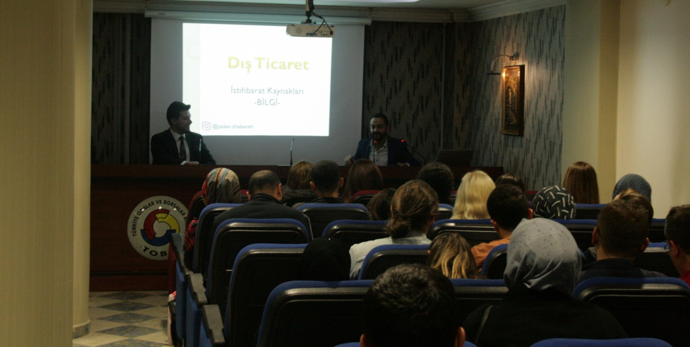 Dış Ticarette İstihbarat Yöntemleri Sertifikalı Eğitim Programı