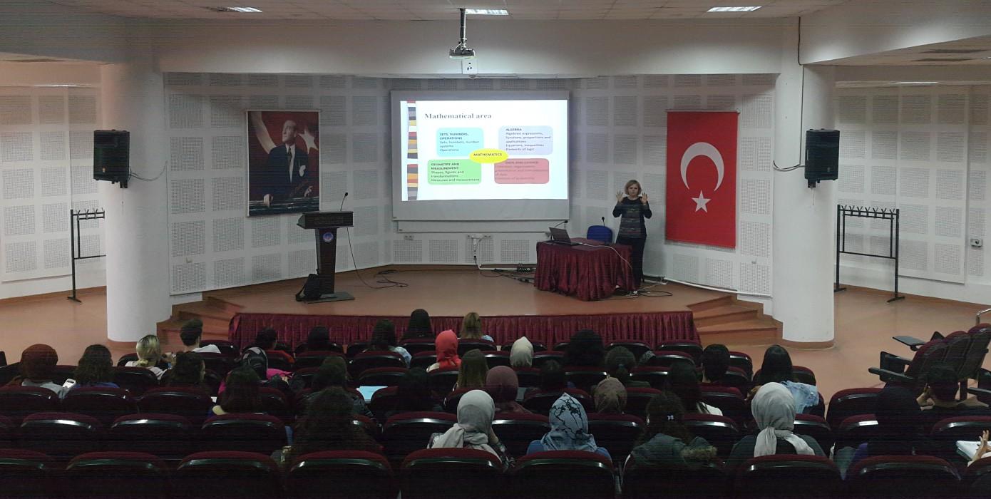 Fakültemizde Prof. Dr. Karmelita Pjanić-lipovača'yı Ağırladık