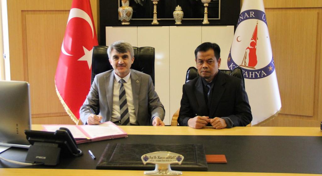 DPÜ ile Islam Negeri Üniversitesi Arasında İş Birliği Protokolü