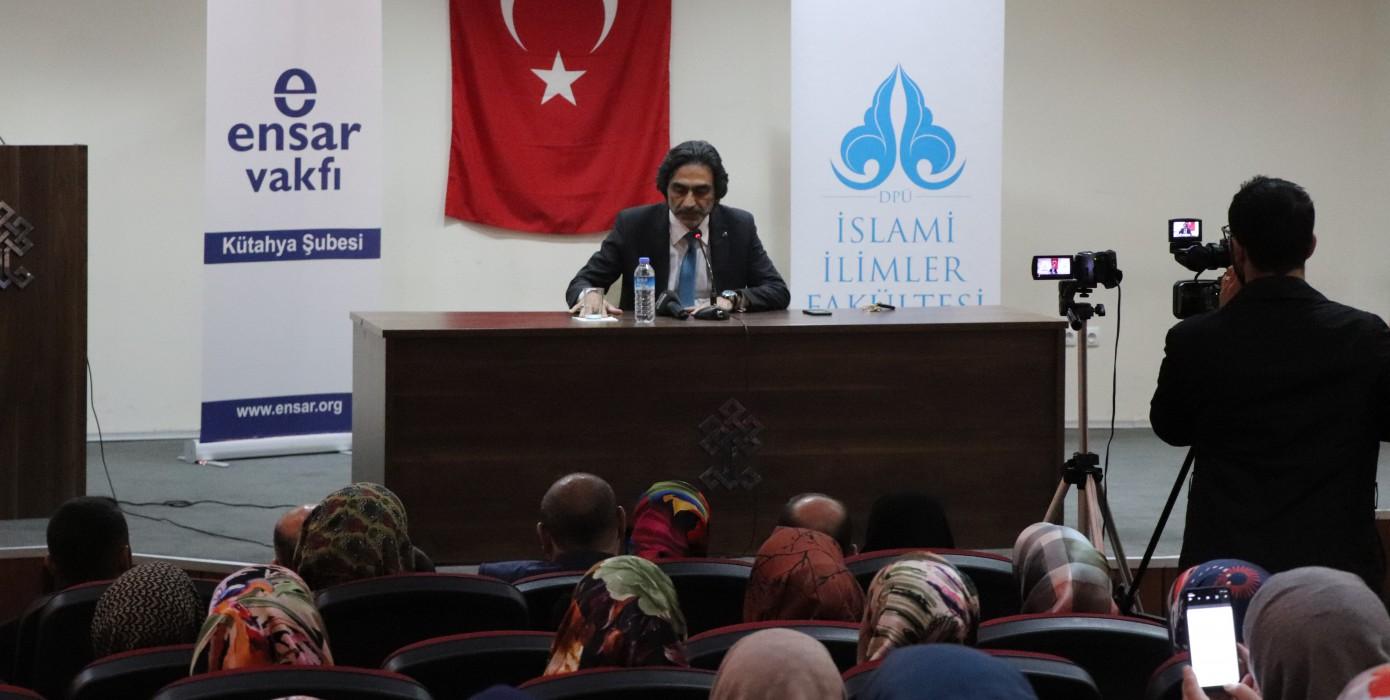 İslami İlimler Fakültesi Mevlid-i Nebi Konferansı Düzenledi