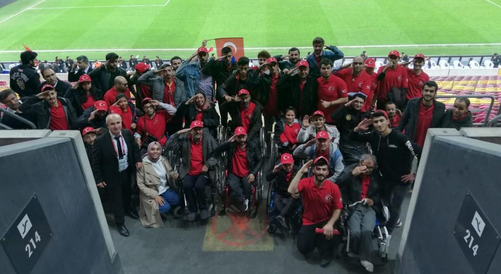 DPÜ Türkiye - İzlanda Maçı İçin Engelleri Kaldırdı
