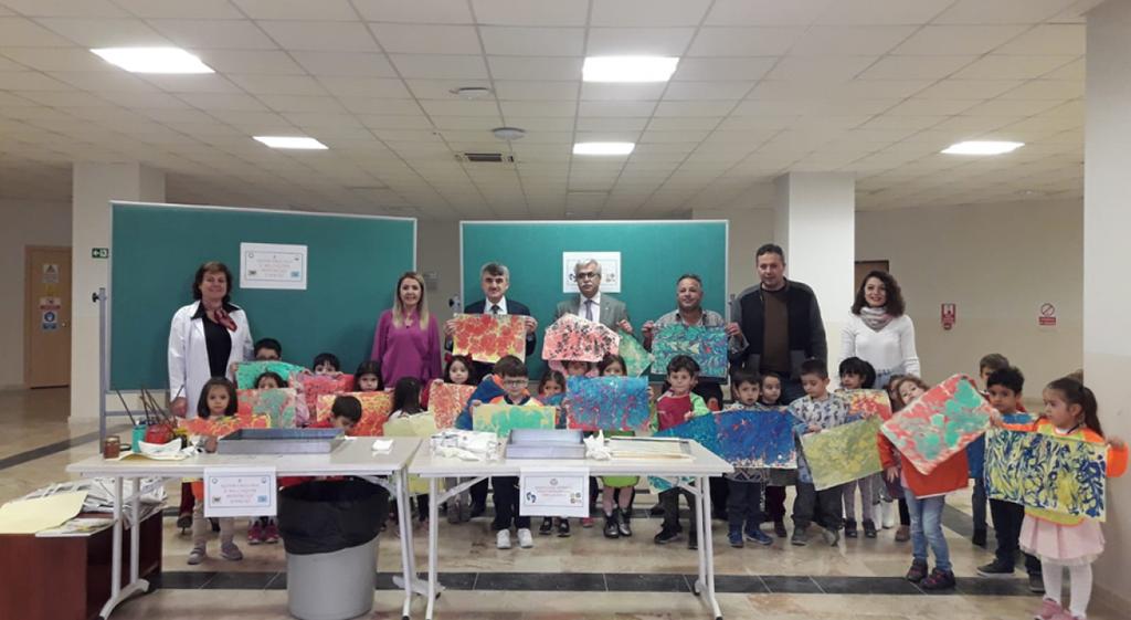 DPÜ Eğitim Fakültesi Neşeli Adımlar Sınıfı'nı Ağırladı