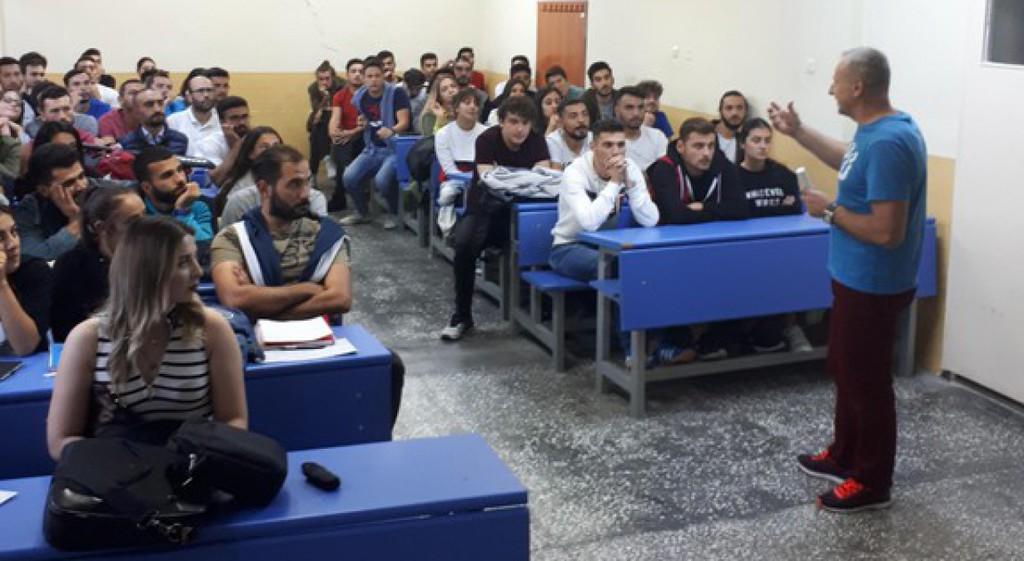 Boşnak Eğitmenler DPÜ'de Ders Verdi