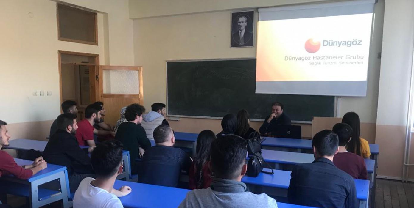 Sağlık Turizmi Programı Öğrencilerine Bilgilendirme Yapıldı