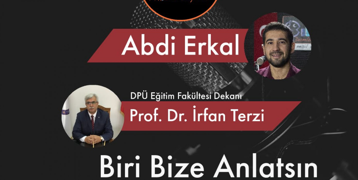 """Fakültemiz Dekanı Sayın Prof.dr. İrfan Terzi, Dpüradyo'da """"Öğretmenler Günü"""" Nün Önemini Anlattı."""