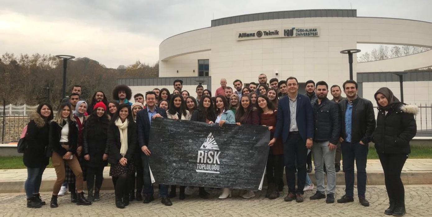 """""""Allianz Teknik"""" Firmasına Risk Topluluğu ile Birlikte Düzenlediğimiz Teknik Gezimiz"""