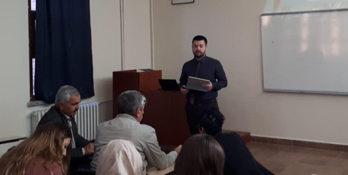 Rosetta Stone ve Literatür Teknikleri Eğitimi Verildi