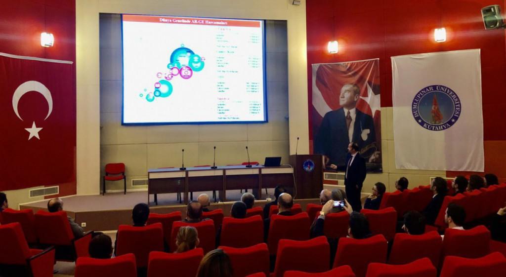 TÜBİTAK Industry PhD Program Presented at DPU