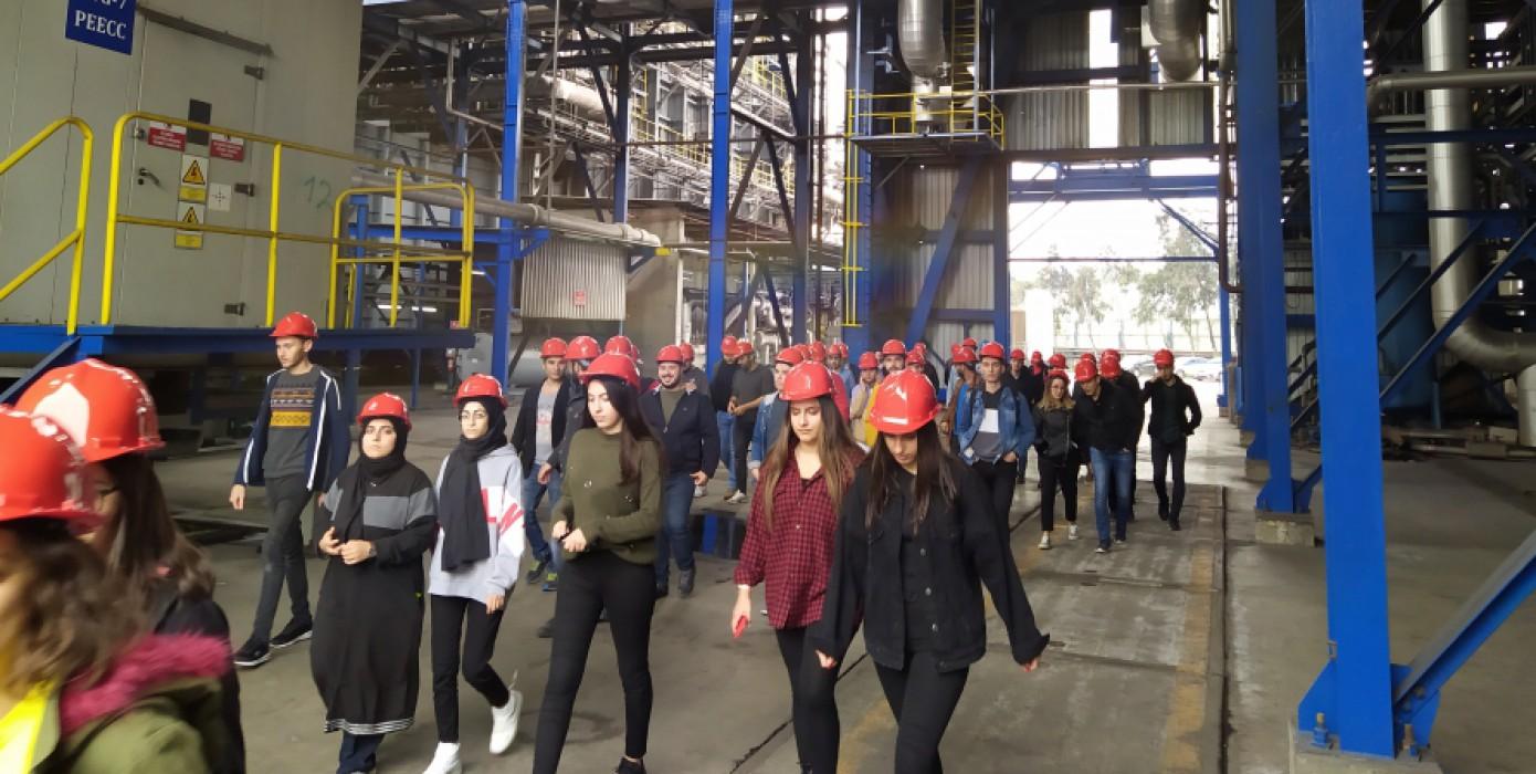 Habaş Sınai ve Tıbbi Gazlar İstihsal End. A.ş. İzmir Demir Çelik Tesislerine Teknik Gezi