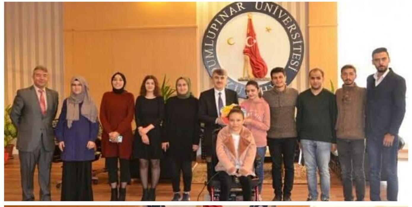 Rektörümüz Prof. Dr. Kazım Uysal'a Öğretmenler Günü Ziyareti