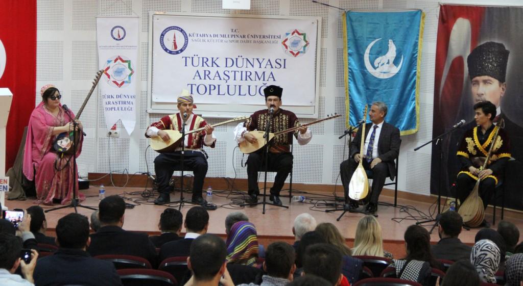Türk Kültürünün Sembollerinden Aşıklar Bu Kez DPÜ'de Atıştı