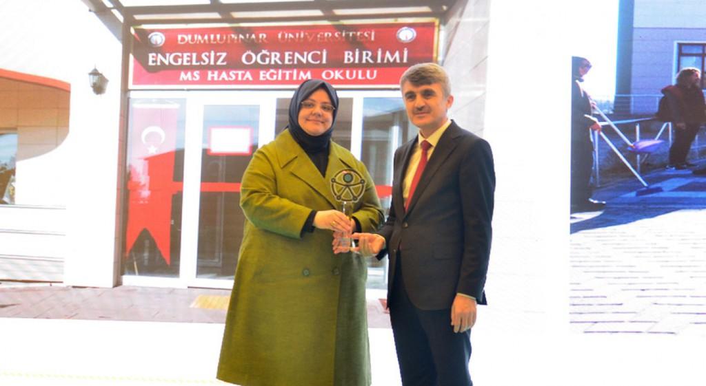 Eğitim Alanında Erişebilirlik Ödülü DPÜ'nün