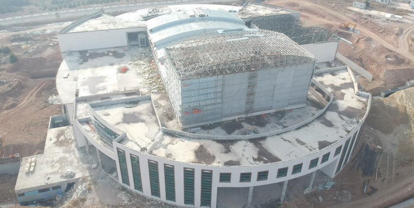 Kongre Kültür Merkezi İnşaatı