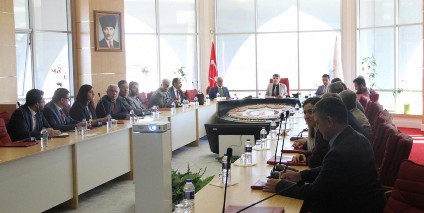 DPU Birim Kalite Sorumluları Toplantısı Gerçekleştirildi