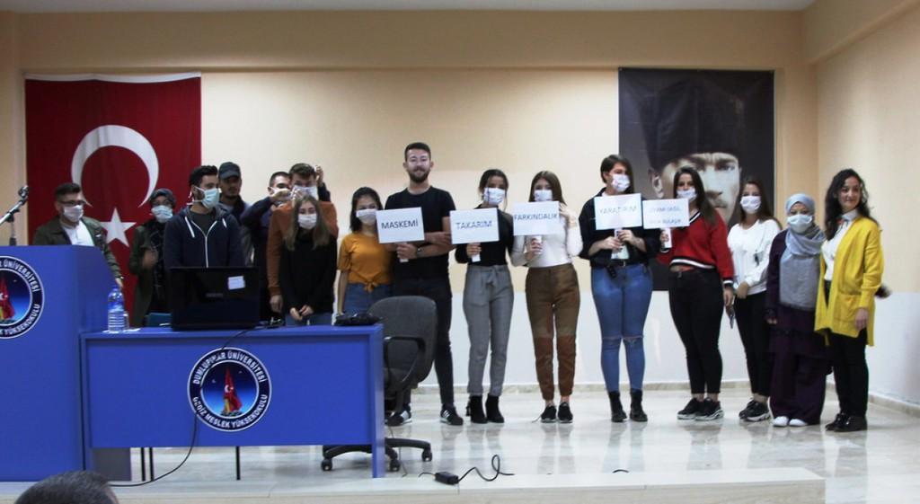 Gediz MYO'da Organ Bağış Haftası Etkinliği