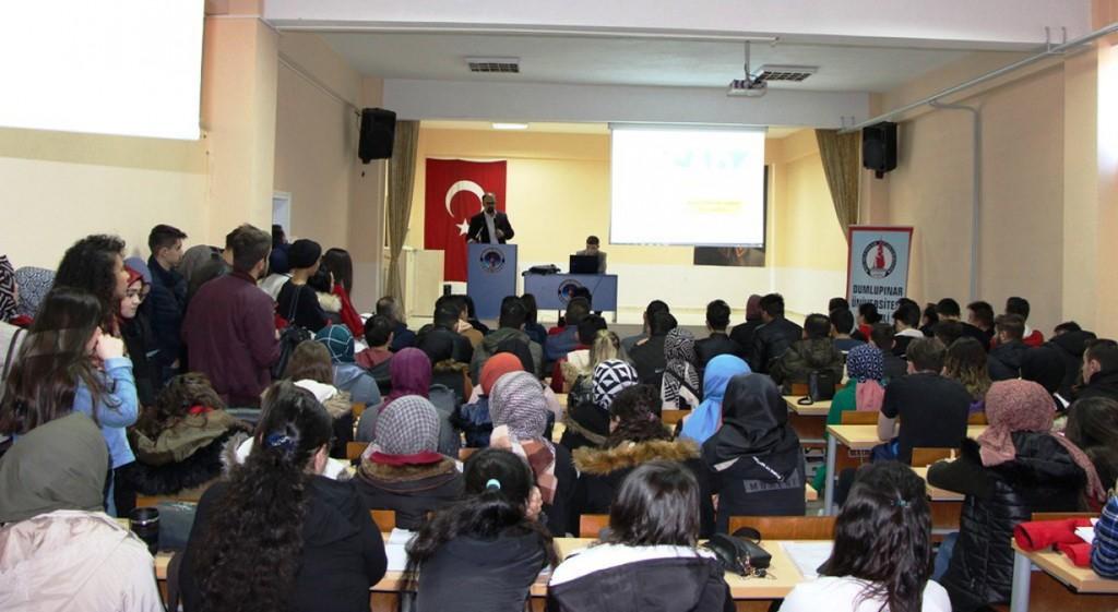 DPÜSEM Sertifika Programlarını Gediz MYO'da Tanıttı