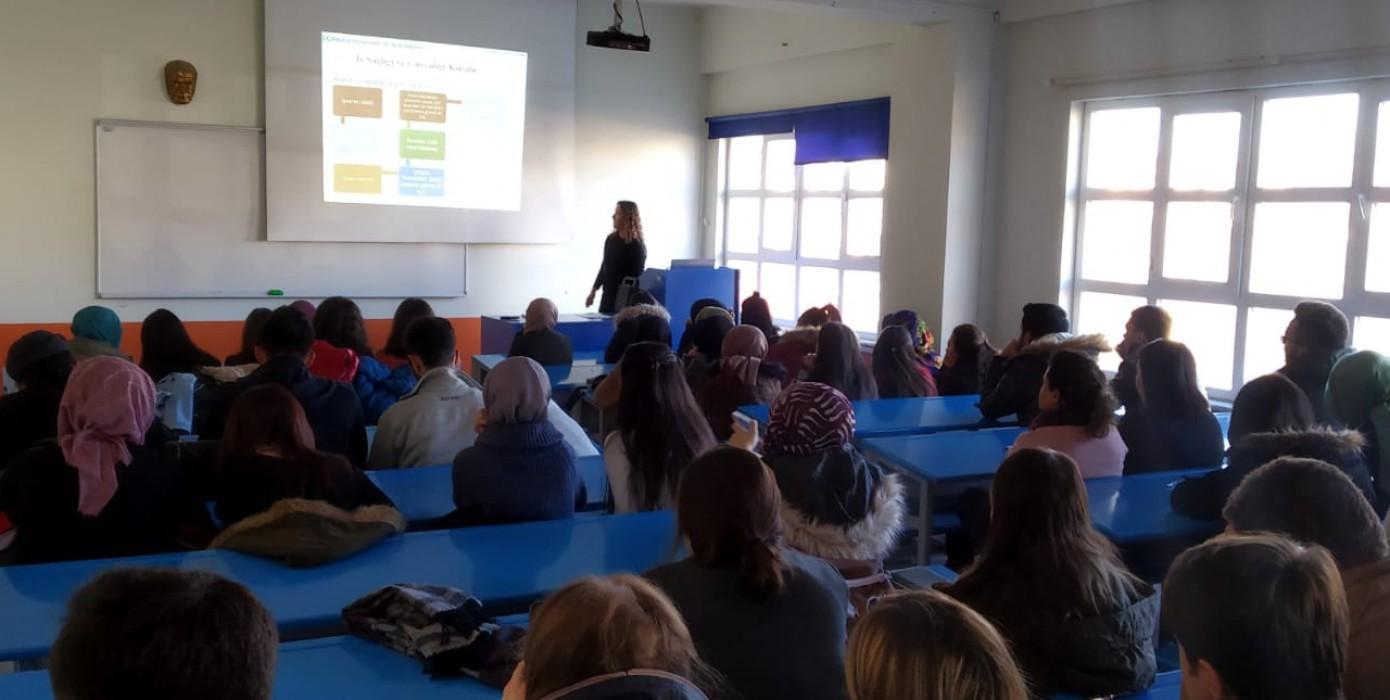 Pazarlar MYO İSG Eğitimi Düzenlendi