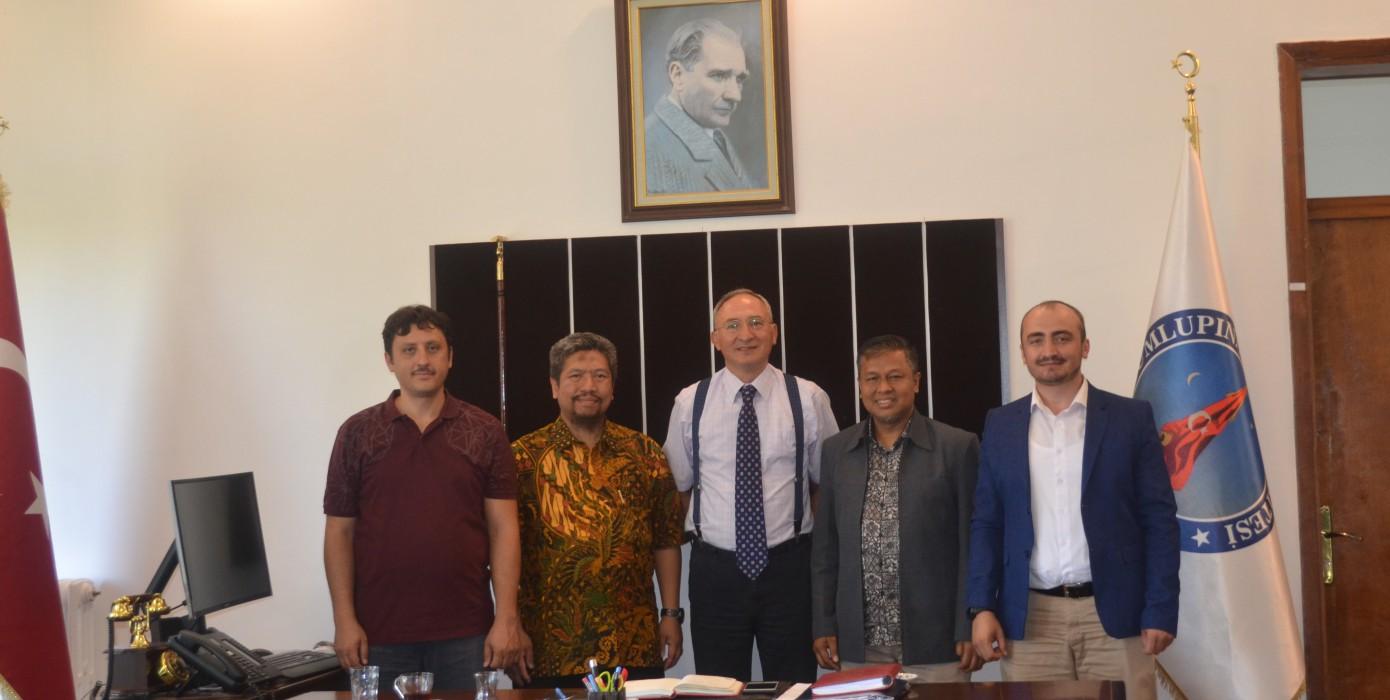 Endonezya ile Fakültemiz Arasında İşbirliği Ziyareti