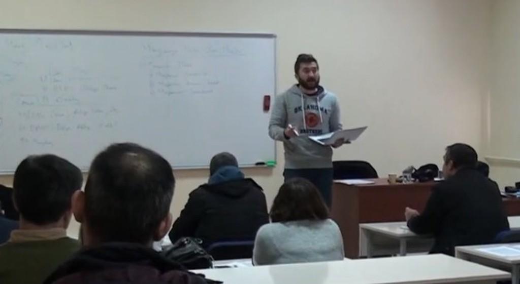 DPÜSEM'de Bilirkişilik Temel Eğitimleri Başladı