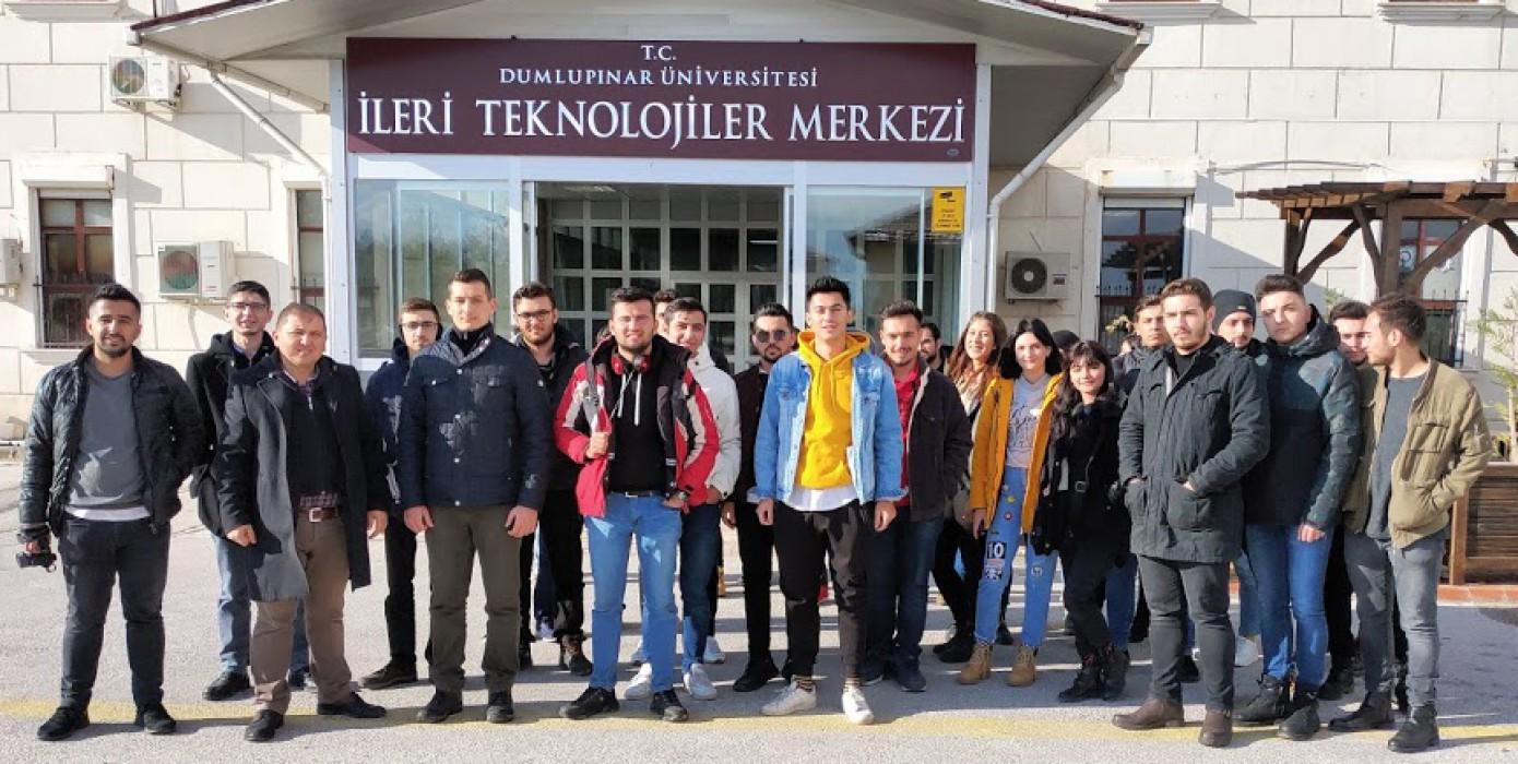 Bilgisayar ve İnternet Ağ Teknolojileri Programı Öğrencileriyle Teknik Gezi