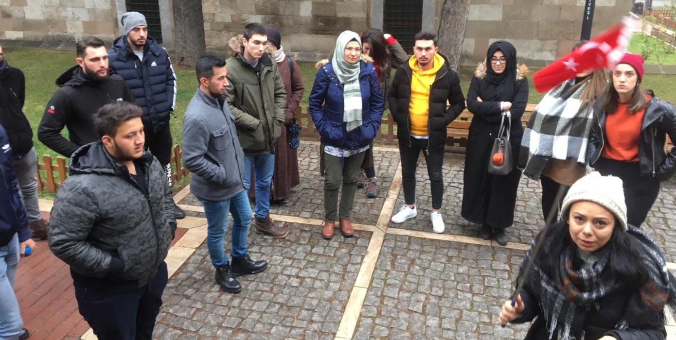 Turist Rehberliği Programı 2. Sınıf Öğrencilerinin Eskişehir Turu