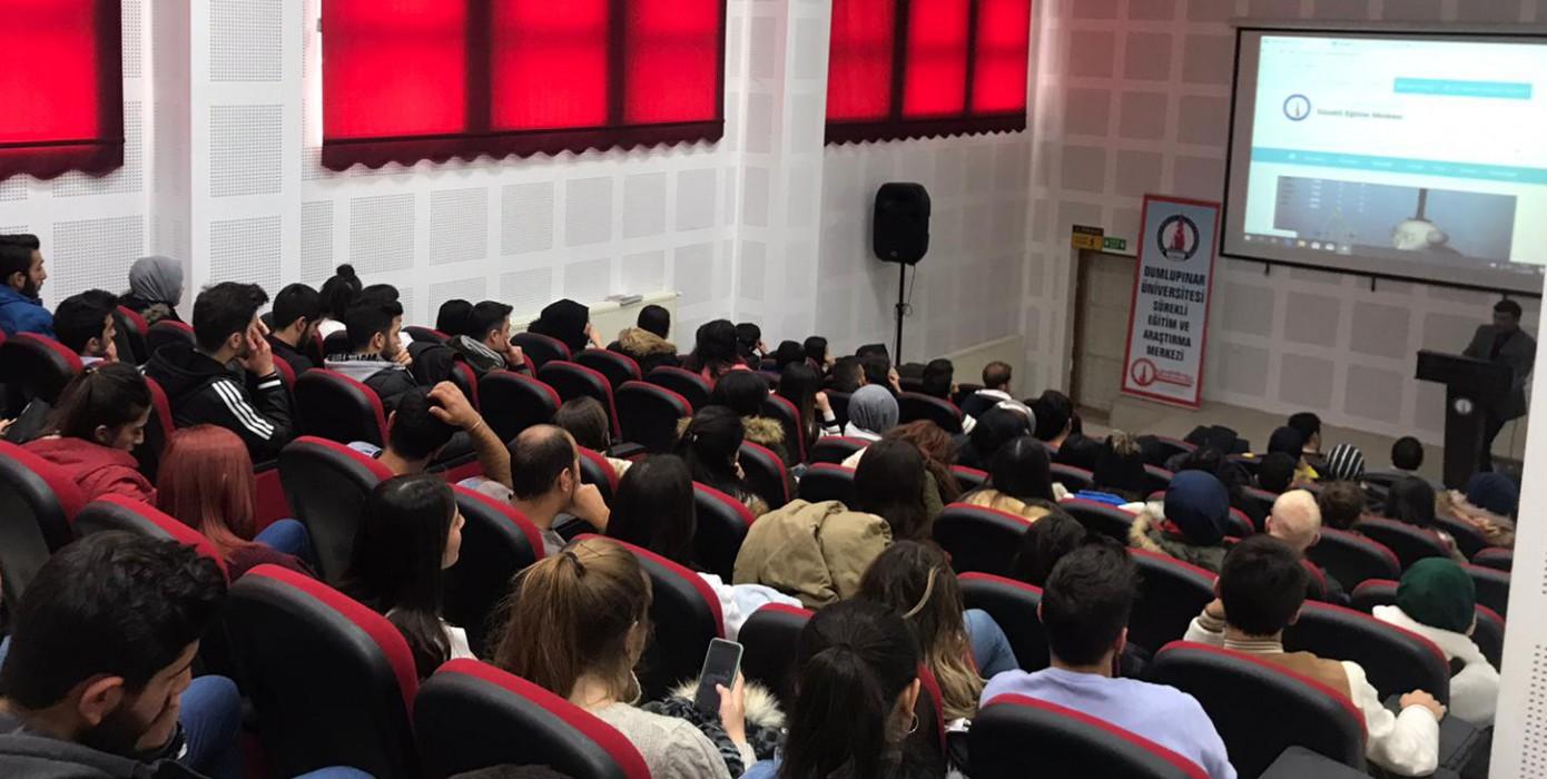 Emet Myo'da Dpüsem Tarafından Sertifika Programları Tanıtıldı