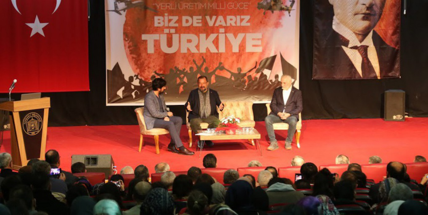 Yerli Üretim Milli Güce Biz De Varız Türkiye Etkinliği