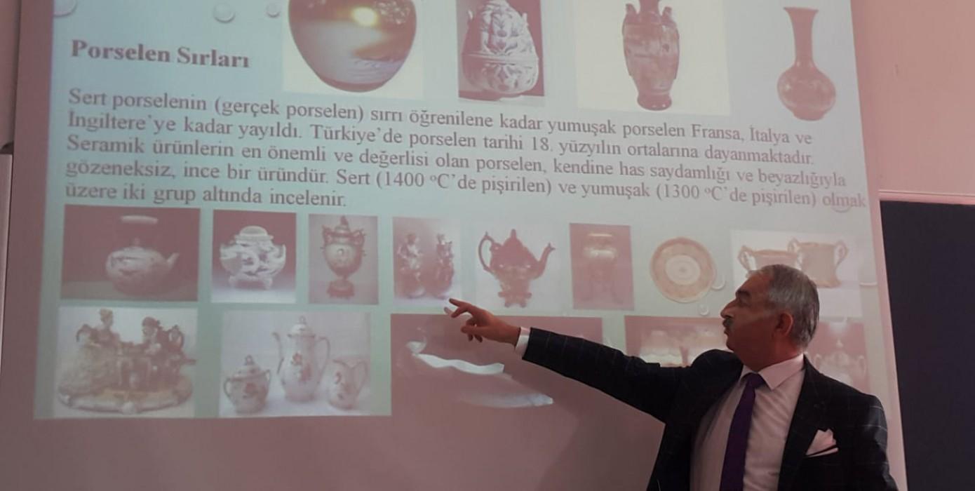 Prof. Dr. Bekir Karasu'dan Dünden Bugüne Seramik Sırları Konulu Seminer