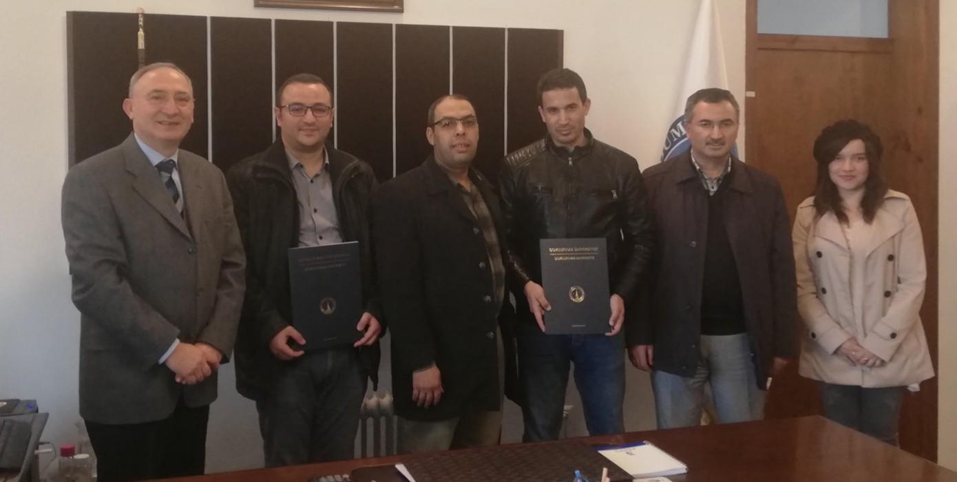 Cezayir Tlemcen Üniversitesi ile Kapsamlı İşbirliği Ziyareti