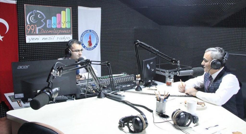 Prof. Dr. Alim Işık Was a Guest at Radyo Dumlupınar