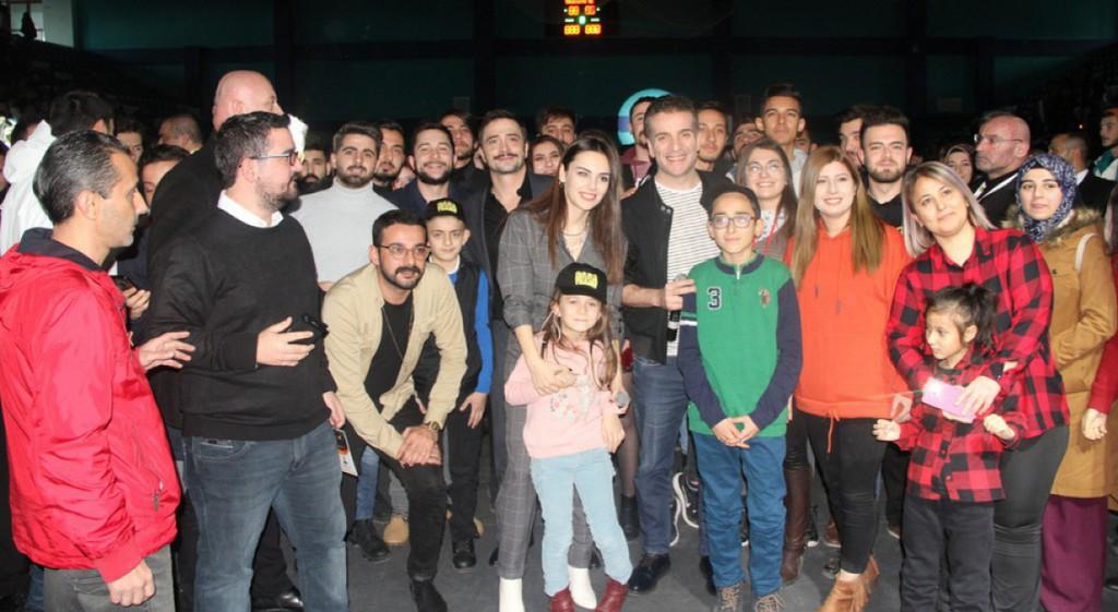 Ahmet Kural, Murat Cemcir and Yağmur Tanrısevsin in DPU