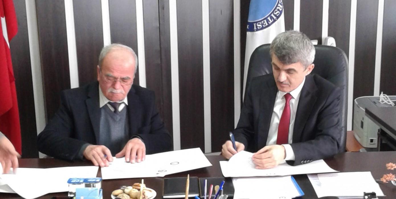 Meslek Yüksekokulumuz ve Tavşanlı Küçük Sanayi Sitesi Yapı Kooperatifi Arasında İşbirliği Ön Protokolünün İmzalanması